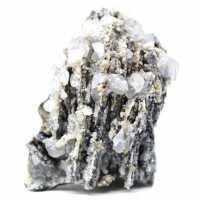 Cérusite, barytine et quartz