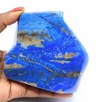 Lapis-lazuli stone decoration