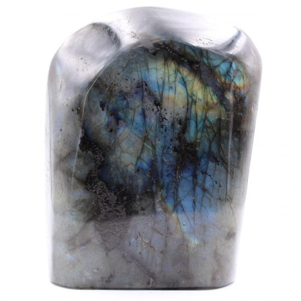 Labradorita con reflejos multicolores para adorno
