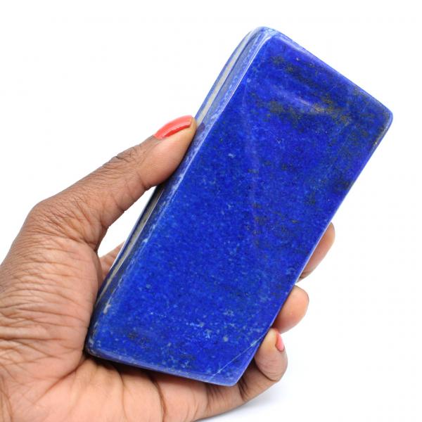 Ornamental stone in Lapis-lazuli