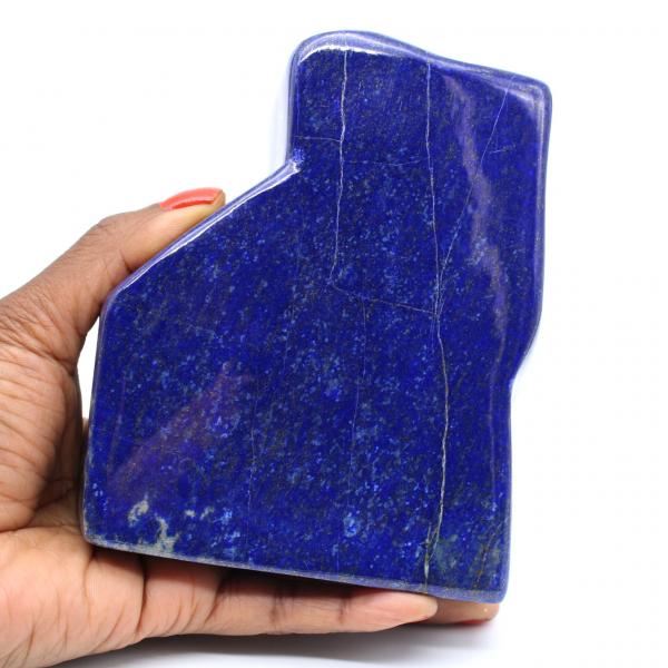 Grand bloc de Lapis-lazuli polie pour collection