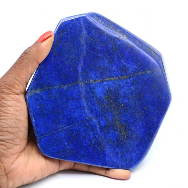 Grand bloc de Lapis-lazuli polie pour décoration