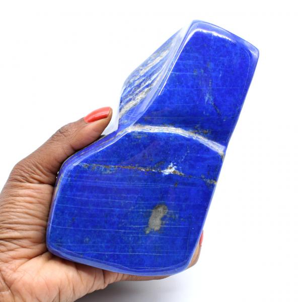 Large free form in Lapis-lazuli