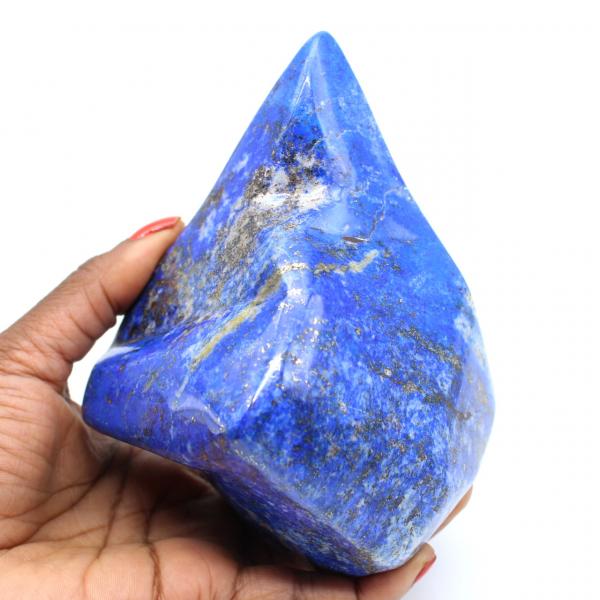Grand bloc d'ornement en Lapis-lazuli