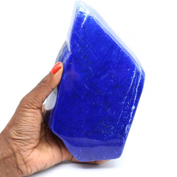 Large collectible lapis lazuli block
